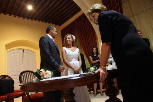 casamento civil noivos