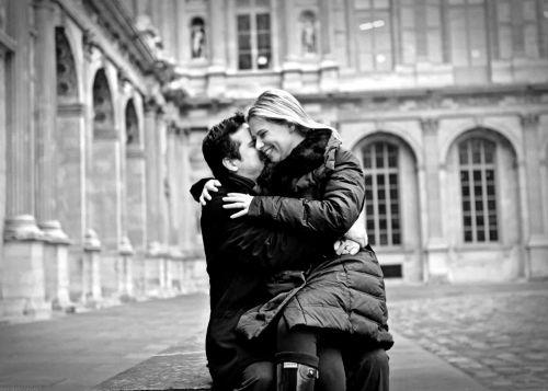 beijo no louvre