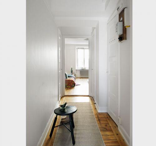 corredor decoração apartamento pequeno