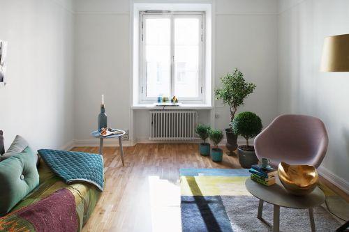 sala de estar decoração apartamento pequeno