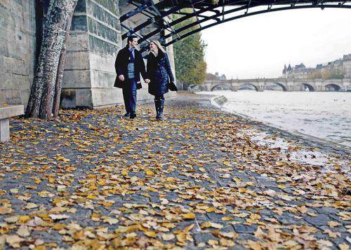 foto de outono em Paris