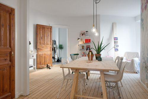 sala-de-jantar-com-parede-estampada