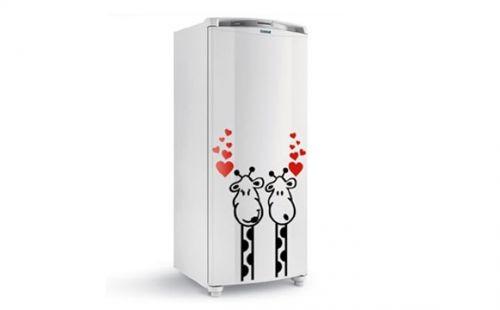 Adesivo de geladeira da Bem Colar