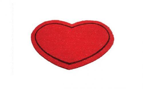 Capacho de coração vendido pela Maria Presenteira