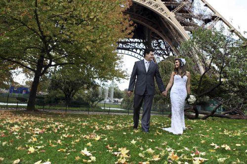 carimonia de casamento em PARIS