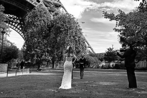 cerimonia de casamento torre eiffel