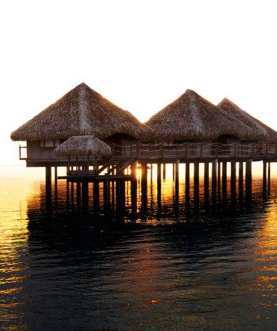 papeete le meridien -OVERWATER BUNGALOW SUNSET (LM PPT)