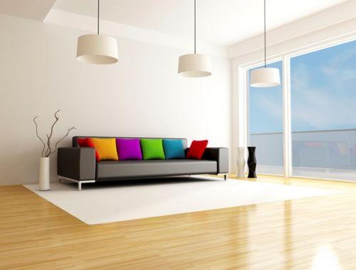 Escolha pisos que sejam de fácil manutenção