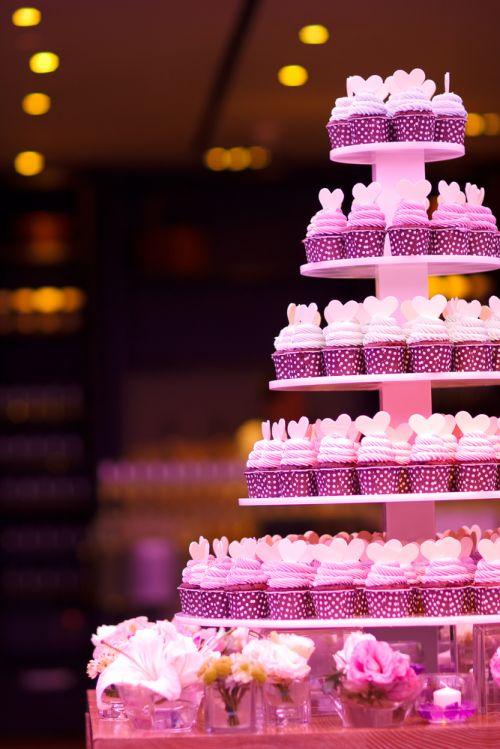 cupcakes coração