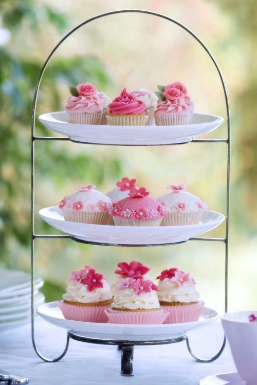 Cupcakes flores iCasei