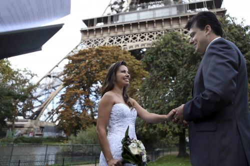 troca de aliancas em paris