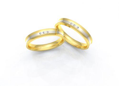 Alianças de casamento - Ouro