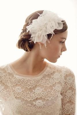 penteado para noivas - headbands para noivas