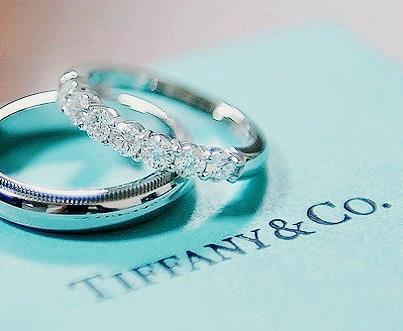 Alianças de casamento - Aliança Tiffany - Ouro Branco