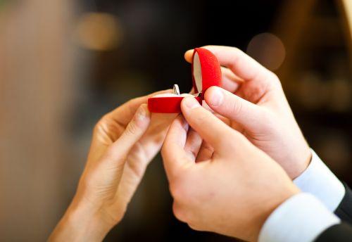 Alianças de casamento - Pedido de Casamento
