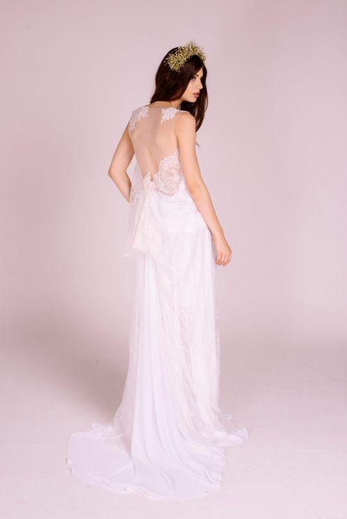 vestido de noiva vegano