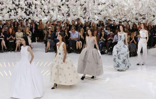 coleção outono inverno 2014/2015 da grife Dior