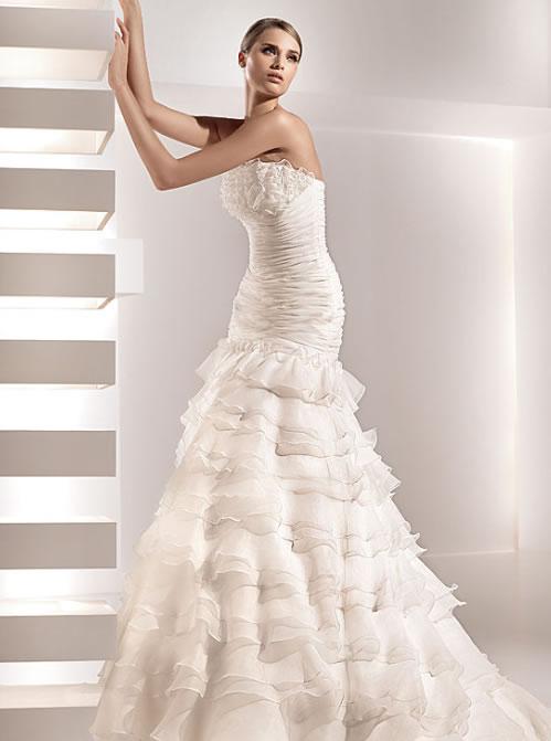 Foto 7 vestidos noiva com pouco busto