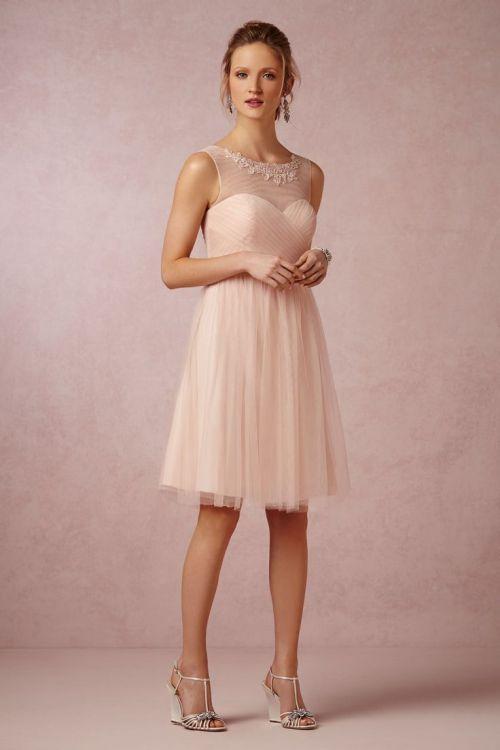 Vestido curto madrinha de casamento
