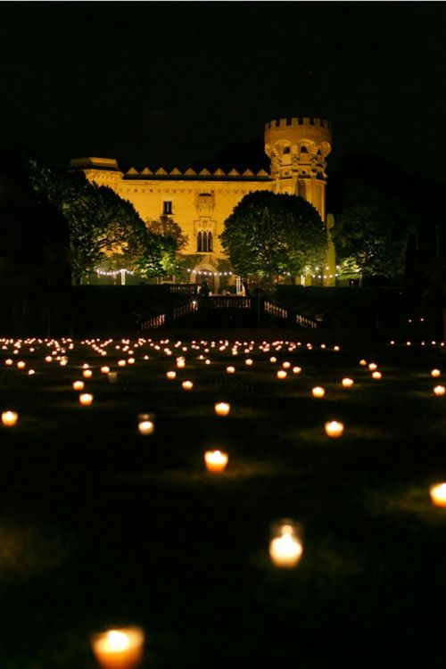 casamento com velas