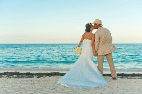 casamento punta cana praia noivos