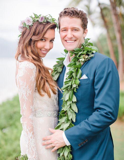 Casamento Matthew Morrison e Renee Puente