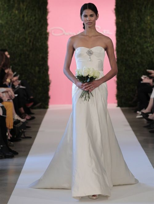 de la renta bridal 2015 - 12