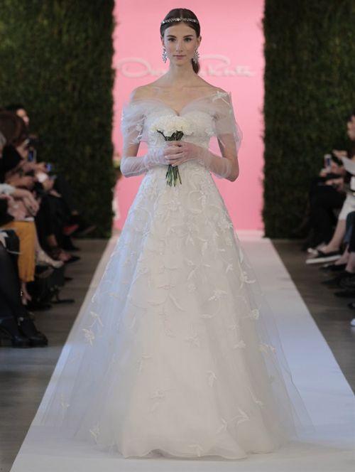 oscar de la renta bridal 2015 - 16