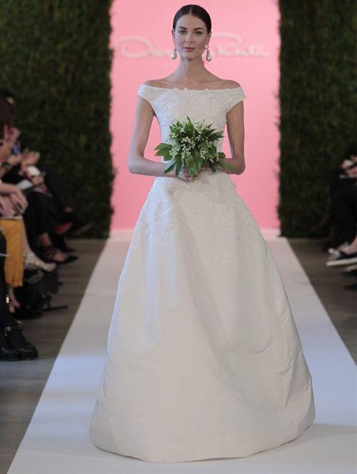 oscar de la renta bridal 2015 - 19