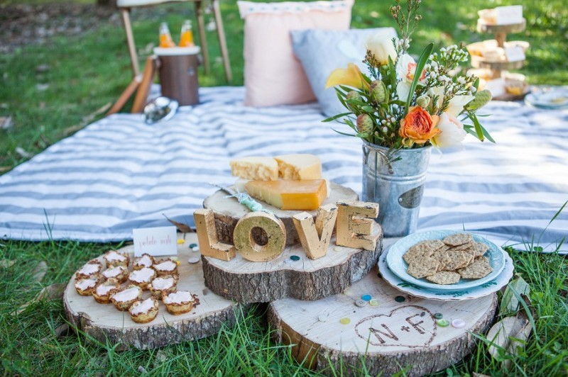 Casamento piquenique wedding for Casa jardin buffet