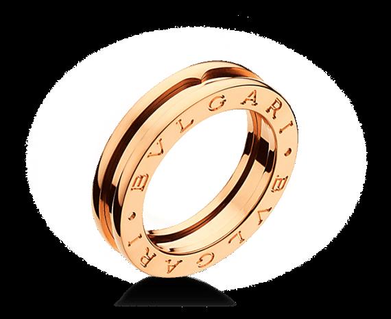Anéis de Noivado e Alianças - Anel Bvlgari B.Zero1