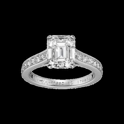 Anéis de Noivado e Alianças - Anel Cartier Solitário 1895