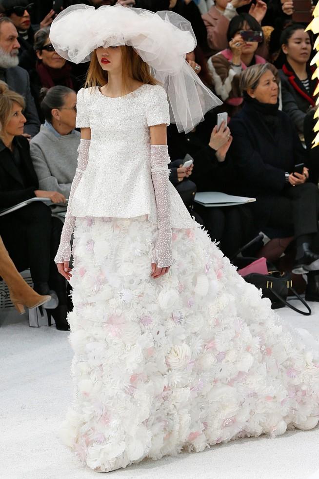 Chanel Alta Costura Paris 2015 Vestido Noiva