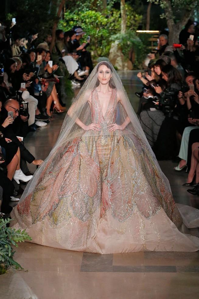 Elie Saab Alta Costura Paris 2015 Vestido Noiva