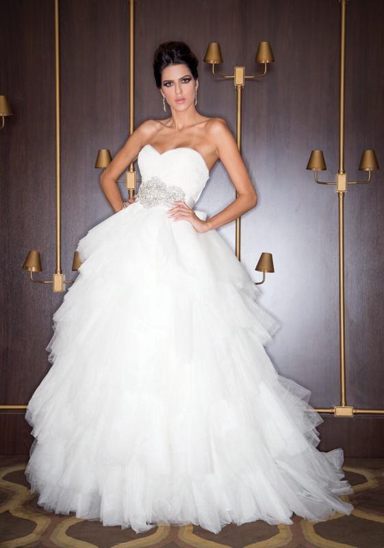 vestido de noiva - noiva romântica