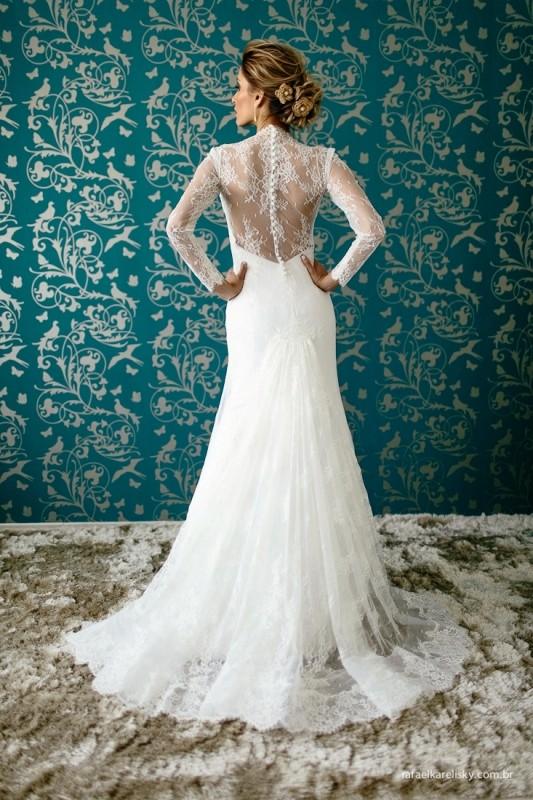vestido de noiva Luciana Collet