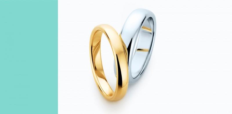 Alianças para casamento Tiffany