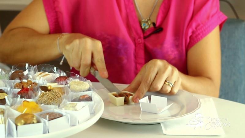 Degustação doces de casamento