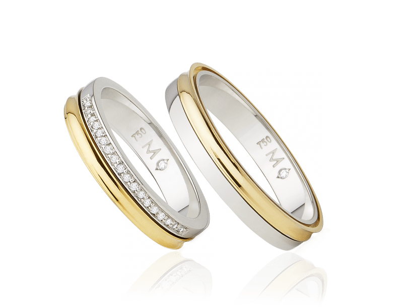 82dedc603fb Aliança para casamento - Infinity Love Double Monte Cristo