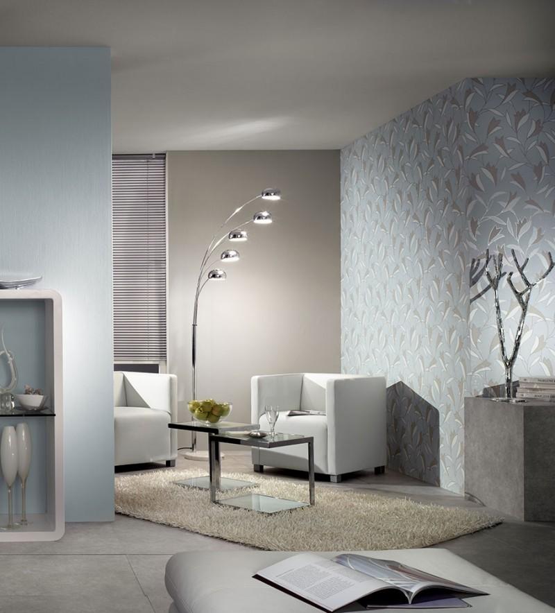 ambiente decorado papel de parede 2