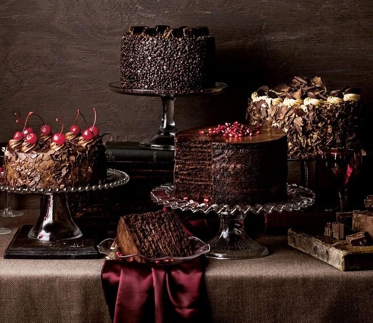 bolo de chocolate para casamento
