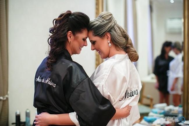 robe para noiva e mãe da noiva