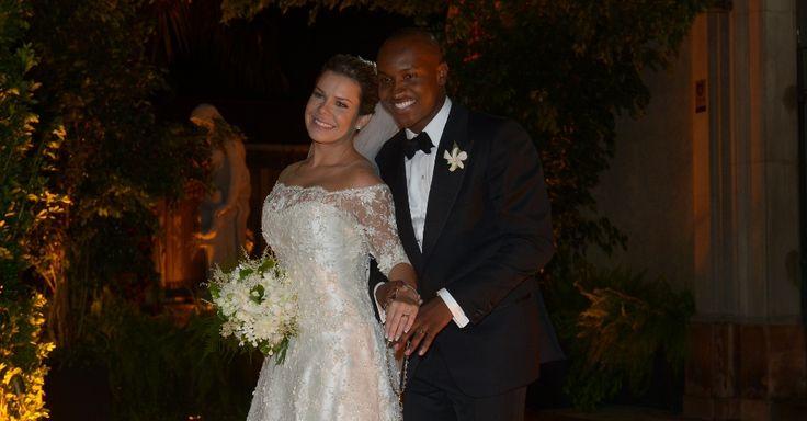 Saída dos noivos - Casamento Thiaguinho + Fernanda Souza
