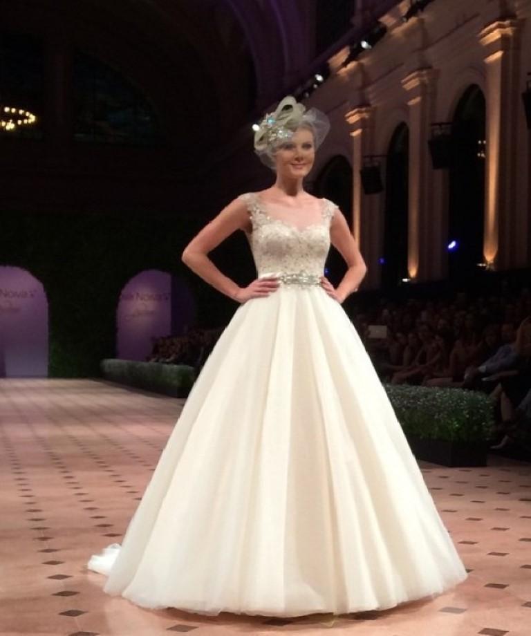 Desfile Chanel alta costura Paris 2015 - Voilette Véu para Casamento
