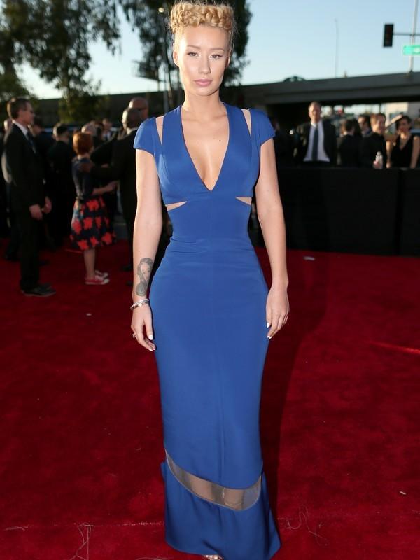 Iggy Azalea de Giorgio Armani - Grammy Awards 2015
