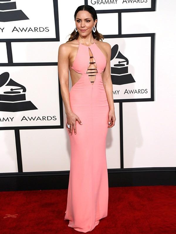 Katherine McPhee de Emilio Pucci - Grammy Awards 2015
