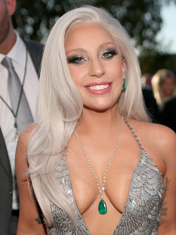 Lady Gaga de Brandon Maxwell - Grammy Awards 2015