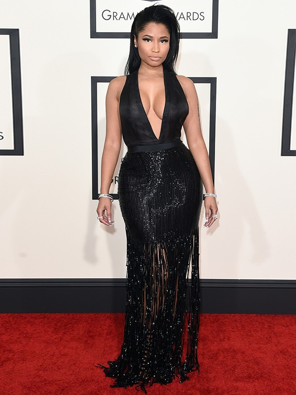 Nicki Minaj de Tom Ford- Grammy Awards 2015