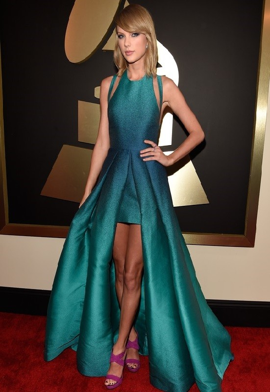 Taylor Swift de Elie Saab - Grammy Awards 2015