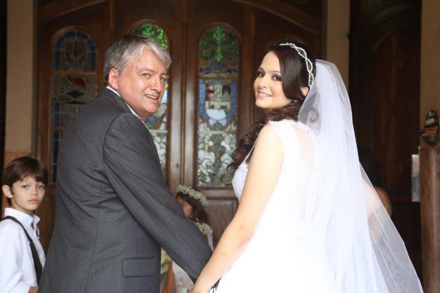 Noiva e pai - Casamento Real | Maira e Gilberto